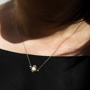 SILVER OPAL STAR PENDANT NECKLACE  $7.50