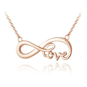 SILVER INFINITY LOVE NECKLACE  $6.90
