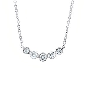Factory Supply Crystal Pearl Choker Necklace -