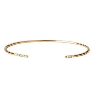SILVER JEWELRY GOLD BANGLE  $9.50
