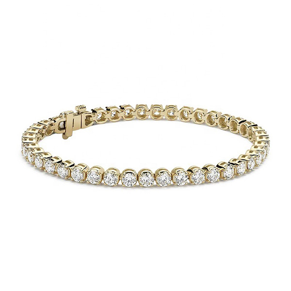 SILVER CUBIC ZIRCONIA TENNIS BRACELET  $19.80 Featured Image