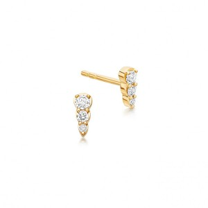 SILVER MINI GOLD FASHION EARRING STUD  $3.60