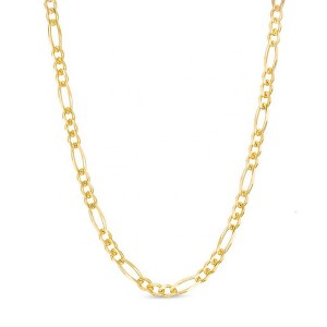 SILVER FIGARO CHAIN NECKLACE  $5.00