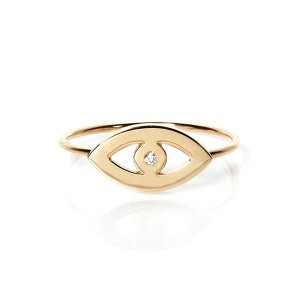 SILVER SIMPLE EYE JEWELRY RINGS $4.90