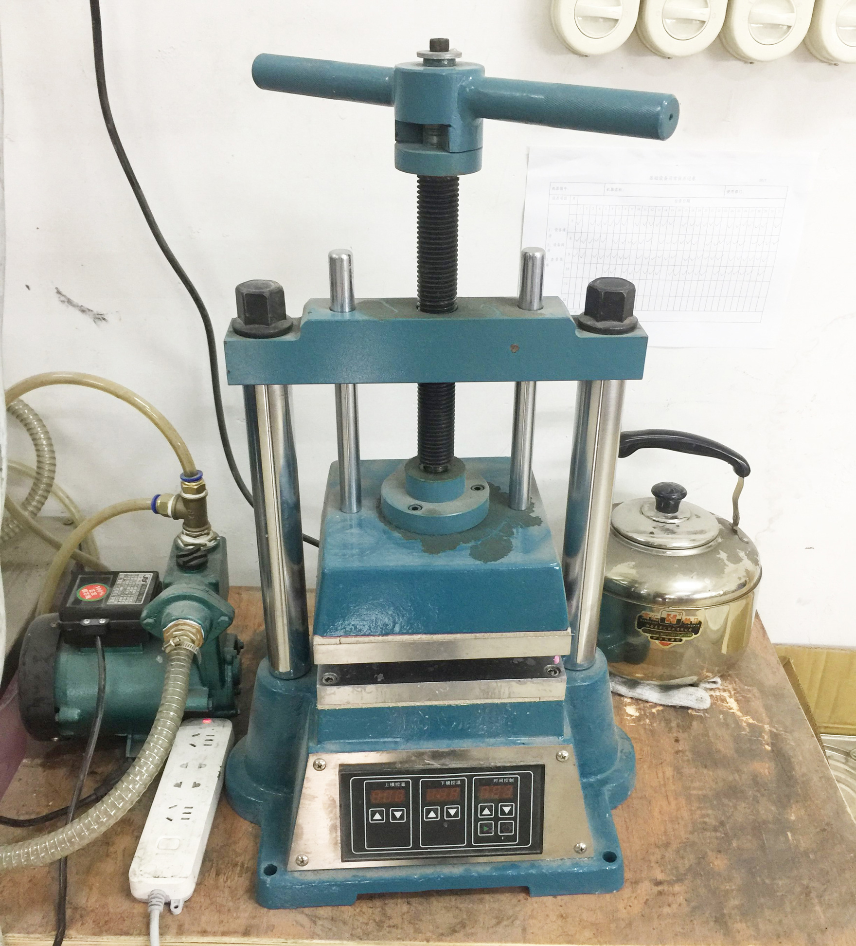 Vulcanized Rubber Mold Machine