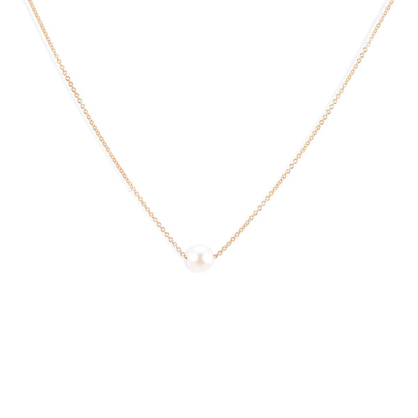 Silver pearl necklace Featured Image