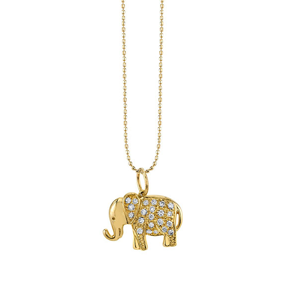 Silver elephant pendant necklace Featured Image